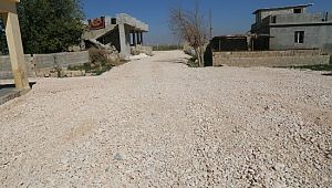 Eyyübiye Belediyesi ilçeye yeni yollar kazandırmaya devam ediyor