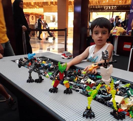 LEGO'nun Renkli Dünyası Piazza'da