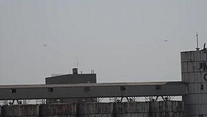 Suriye sınırında devriye uçuşları yeniden başladı