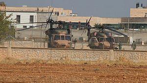 Fırat'ın doğusunda beşinci ortak helikopter uçuşu