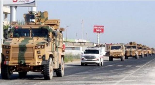 Güvenli Bölge için kullanılacak zırhlı araçlar Akçakale'ye getirildi