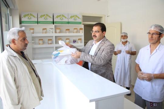 Haliliye'de çölyak hastalarına glütensiz ekmek yardımı
