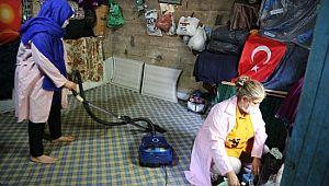 Haliliye'de evde bakım hizmeti veriliyor