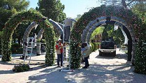 Haliliye'de Parklar Dikey Peyzajla Süsleniyor