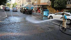 Haliliye'de şoklama ile mahalleler pırıl pırıl