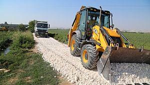 Kırsal, Haliliye ile çamursuz yollara kavuşuyor