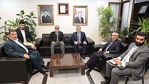 Kuveyt Büyükelçisi Zawavi belediyeyi ziyaret etti