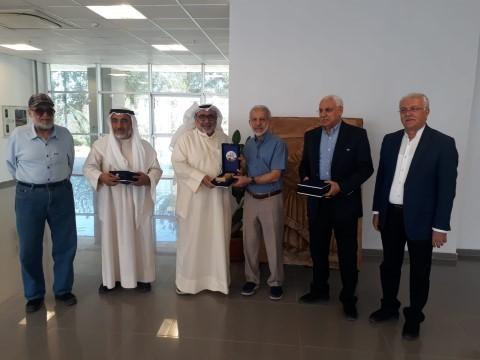 Kuveyt heyetinden HRÜ'ye ziyaret