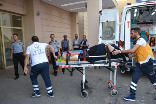 Minibüs devrildi: 5 yaralı