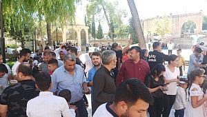 Şanlıurfa'da bin vatandaşa aşure ikram edildi