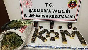 Şanlıurfa'da uyuşturucu operasyonu yapıldı iki kişi tutuklandı