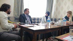 Şanlıurfa Valisi Abdullah Erin'in eşi, CARE ofisini ziyaret etti