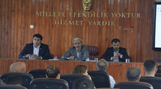 Siverek'te 2019 Yılı Eylül Ayı Meclis Toplantısı Gerçekleşti