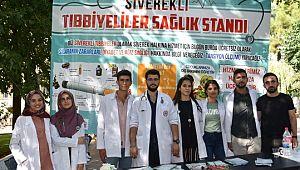 Siverekli tıbbiyeliler memleketlerini unutmadı