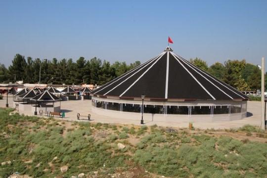 Tarihi kent Harran'a tarihi otağ