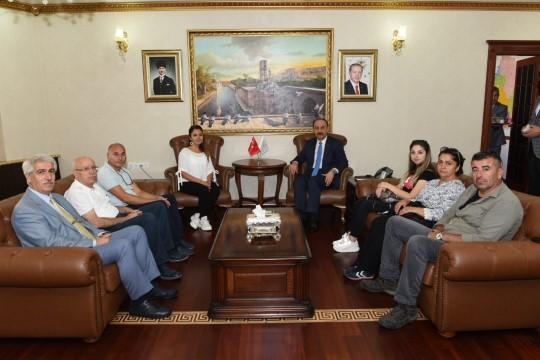 TRT derleme ekibi Şanlıurfa'da