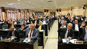 44 madde meclisten geçerek karara bağlandı