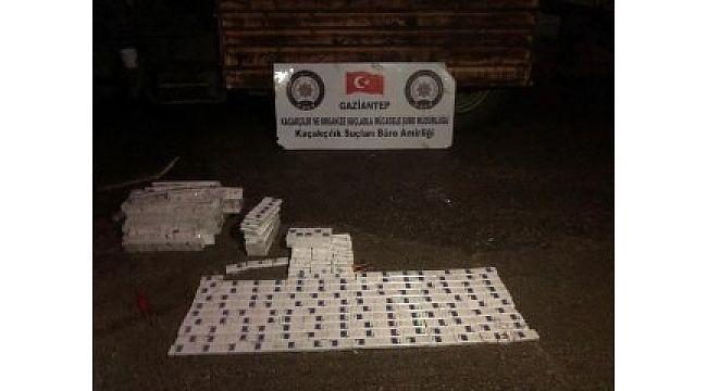 660 paket kaçak sigara ele geçirildi
