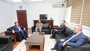 Askeri casusluk davasından beraat eden Tuğgeneral İdris Acartürk harekata katıldı