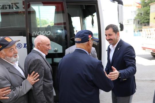 Başkan Baydilli'den gazilere büyük jest