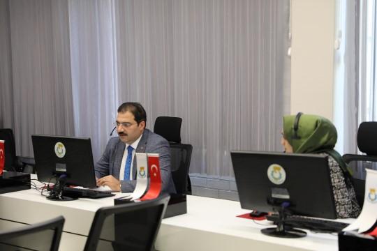 BAŞKAN CANPOLAT: HALİLİYE'NİN çözüm merkezi 24 saat hizmette