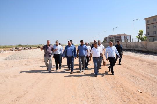 Başkan Ekinci Viranşehir'de yapılması gereken yollarda incelemelerde bulundu