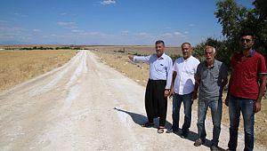 Büyükşehir Kırsal , yollardaki çalışmalarına devam ediyor