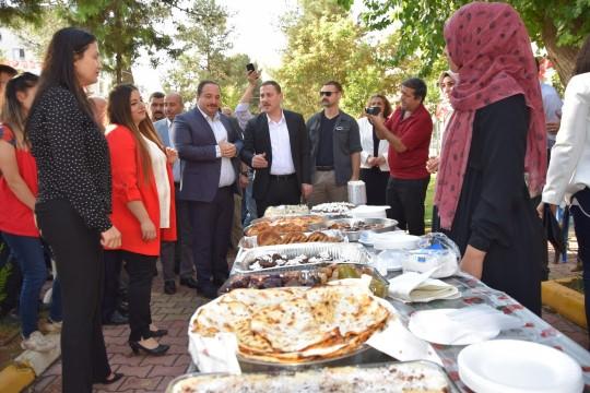 Ceylanpınar'dan Viranşehir'e gelen vatandaşlar yararına kermes