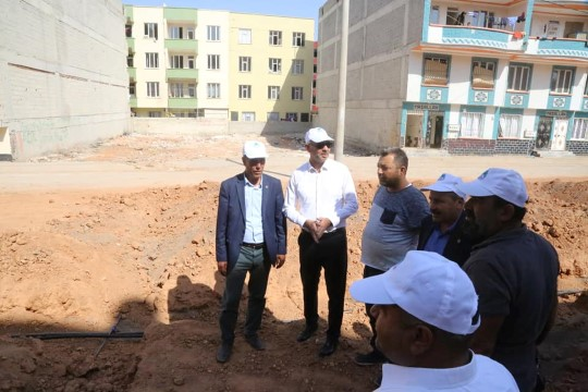 Eyyübiye Belediyesi Asya Mahallesinde 3 Park Yapımına Başladı