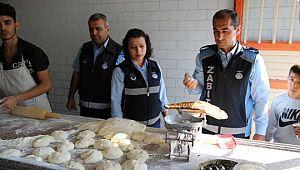 Haliliye'de pide fırınlarına denetimler devam ediyor