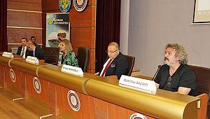 HRÜ'de telif konulu sergi ve panel gerçekleşti