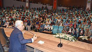 HRÜ modacı Faruk Saraç'ı ağırladı