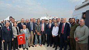 İhracatçılar sınırda Mehmetçiğe moral verdi