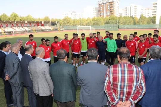 Karaköprü Belediyespor'da hedef galibiyet serisini sürdürmek