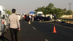 Şanlıurfa'da otomobile silahlı saldırı: 3 ölü