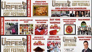 'Şanlıurfa lezzetleri ve isot festivali' devam ediyor