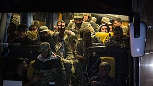 Suriye Milli Ordusu doçkalarla Akçakale'de