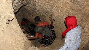Tarihi mağaralara gizemli yolculuk