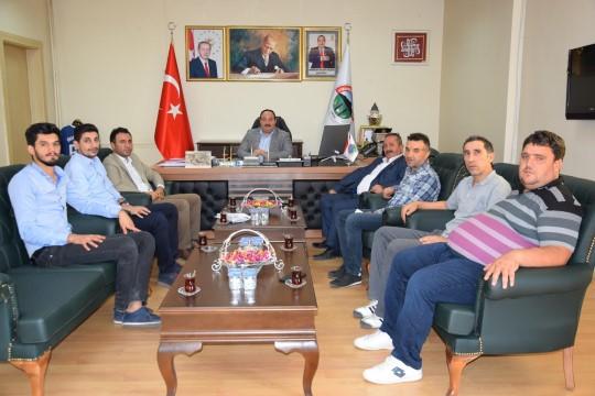 Viranşehir Belediyesi'nden amatör spor kulüplerine akaryakıt desteği