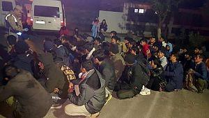 69 düzensiz göçmen yakalandı