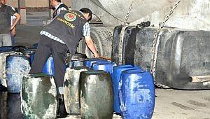 Akaryakıt kaçakçılarına yönelik operasyon yapıldı(Video)