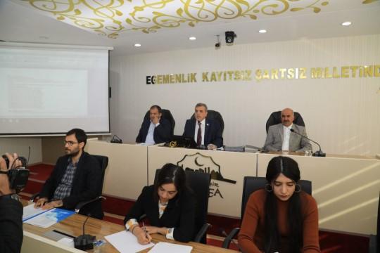 Büyükşehir meclisi, bütçe konusunu görüştü