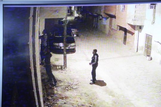 Camide gece yarısı utandıran hırsızlık
