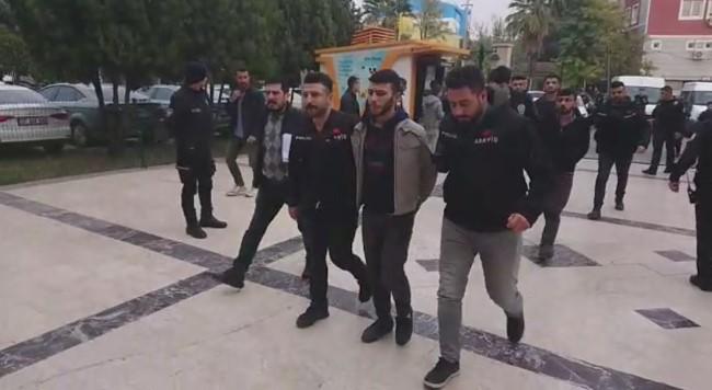 Cinayet zanlıları tutuklandı