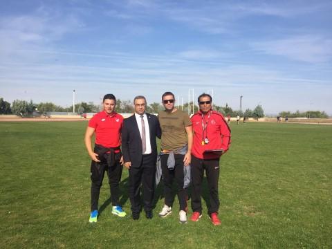 Diyarbakır'da futbol hakemleri atletik testten geçti