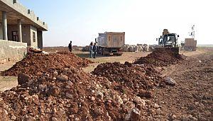 Eyyübiye Belediyesi, hem merkezde hem kırsalda dur durak demeden çalışıyor