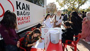 GAÜN'den kan bağışı kampanyasına destek