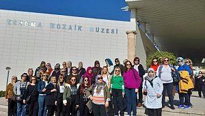 Gülüçlü kadınlar Şanlıurfa ve Gaziantep gezisine başladı