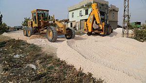 Haliliye Belediyesi, girilmedik mahalle bırakmıyor