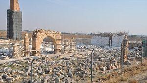 Harran kazılarında cami, medrese, okul ve hamam kalıntılarına ulaşıldı